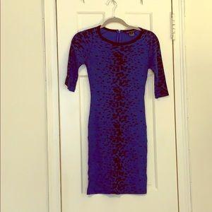 French Connection Zebra Print Dress
